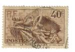 Stamps France -  Cent. de muerte de Claude Rouget de Lisle