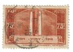 Stamps France -  Monumentos de Vimy