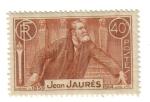 Stamps France -  Jean Jaures