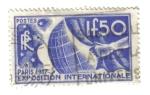 Stamps France -  Exp.  Int. de Paris