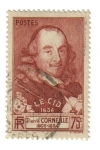 Stamps France -  Pierre Corneille