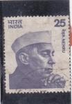 Sellos de Asia - India -  JAWAHALAL NEHRU