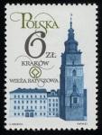 Stamps Poland -  Polonia - Centro histórico de Cracovia
