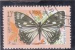 Stamps : Asia : Laos :  Mariposa