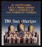 Stamps San Marino -  Italia - Venecia y su laguna