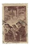 Stamps France -  Mineros