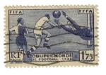 Stamps France -  Mudial de Fútbol en Paris
