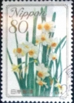 Stamps Japan -  Scott#3084 intercambio 0,55 usd 80 y. 2008