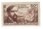 Stamps France -  Claude Debussy