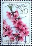 Stamps Japan -  Scott#3185 intercambio 0,90 usd 80 y. 2009