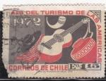 Sellos del Mundo : America : Chile : año del turismo de las Américas