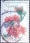 Stamps Japan -  Scott#3228 intercambio 0,90 usd 80 y. 2010