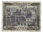 Stamps France -  Sello Aéreo (vista de Paris)