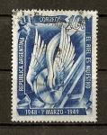 Sellos de America - Argentina -  200 Aniv. del Establecimiento del correo regular en Rio de Plata.