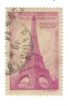 Stamps Europe - France -  Cincuentenario de la Torre Eiffel