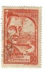 Stamps France -  Gregóire de Tours