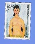 Stamps Equatorial Guinea -    OBRAS  MAESTRAS  DEL  DESNUDO