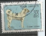 Stamps : Asia : Turkey :  INTERCAMBIO SCOTT  1953
