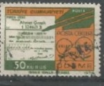 Stamps : Asia : Turkey :  INTERCAMBIO SCOTT 1998