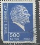 Stamps : Asia : Turkey :  INTERCAMBIO SCOTT  1933