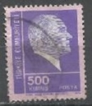 Stamps : Asia : Turkey :  INTERCAMBIO SCOTT  1933 a