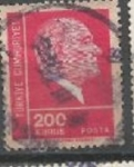 Stamps : Asia : Turkey :  INTERCAMBIO SCOTT 1930
