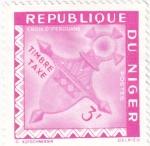 Stamps : Africa : Niger :  cruz de Iferouane