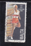 Sellos de Europa - Malta -  XXIV Olimpiada