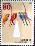 Sellos de Asia - Japón -  Scott#3117 intercambio 0,60 usd  80 y. 2009