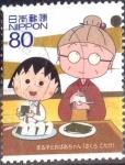 Stamps Japan -  Scott#3259h intercambio 0,90 usd  80 y. 2010