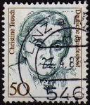 Stamps Germany -  INT-CHRISTINE TEUSCH