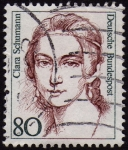 Stamps Germany -  INT-CLARA SCHUMANN