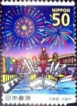 Stamps Japan -  Scott#3438 intercambio 0,50 usd 50 y. 2012