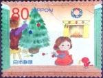 Sellos de Asia - Japón -  Scott#3486e intercambio 0,90 usd 80 y. 2012