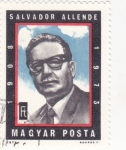 Stamps Hungary -  Salvador Allende