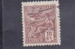 Stamps Brazil -  Aviaçao