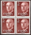 Sellos del Mundo : Europa : España : General Franco  1960  5 ptas