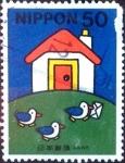 Stamps Japan -  Scott#2739 intercambio 0,35 usd 50 y. 2000
