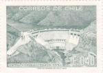 Stamps : America : Chile :  central hidroeléctrica de Rapel