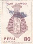 Stamps Peru -  Huaco-cultura inca