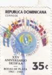 Sellos del Mundo : America : Rep_Dominicana : XXV Aniversario Sicofaa