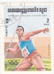 Sellos de Oceania - Camboya -  XXIII Juegos olimpicos Los Angeles'84