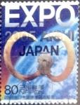 Sellos de Asia - Japón -  Scott#2921 intercambio 1,10 usd 80 y. 2005