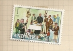 Stamps Europe - Andorra -  Costumbres populares