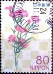 Stamps Japan -  Scott#3366 intercambio 0,90 usd 80 y. 2011