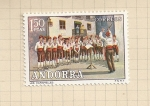 Stamps Andorra -  Costumbres populares