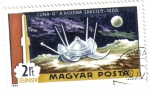 Stamps : Europe : Hungary :  Luna-9