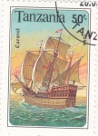 Stamps Tanzania -  Carabela