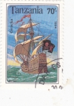 Stamps : Africa : Tanzania :  Carabela