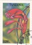 Stamps : Africa : Tanzania :  Flor